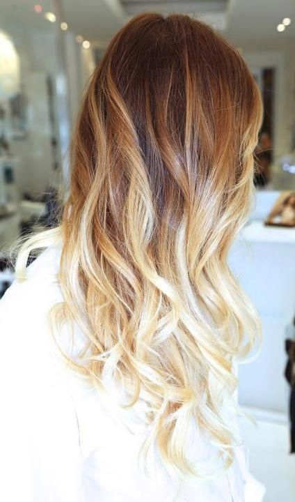 Омбре на волосах (15)
