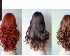 Шатенка цвет волос