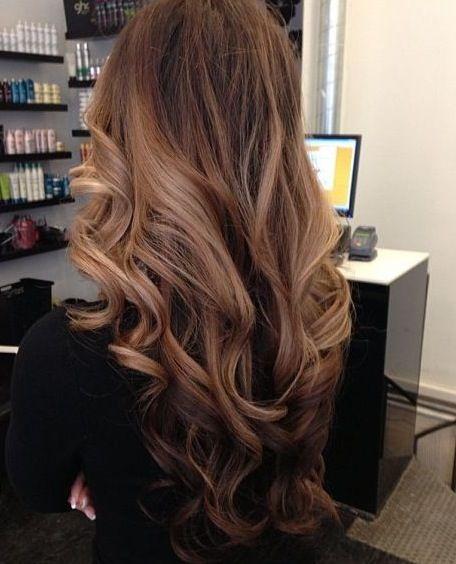 Фото длинных волос сзади