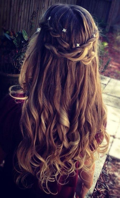 Фото длинных волос сзади (6)