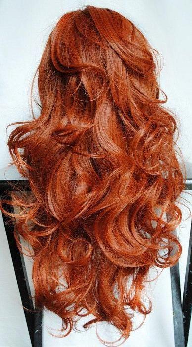 Фото длинных волос сзади (4)