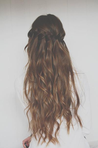 Фото длинных волос сзади (1)