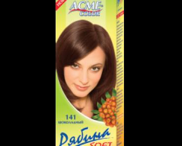 """Краска для волос """"Рябина"""""""
