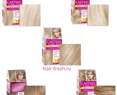 Кастинг Крем Глосс палитра /краска для волос от L'OREAL