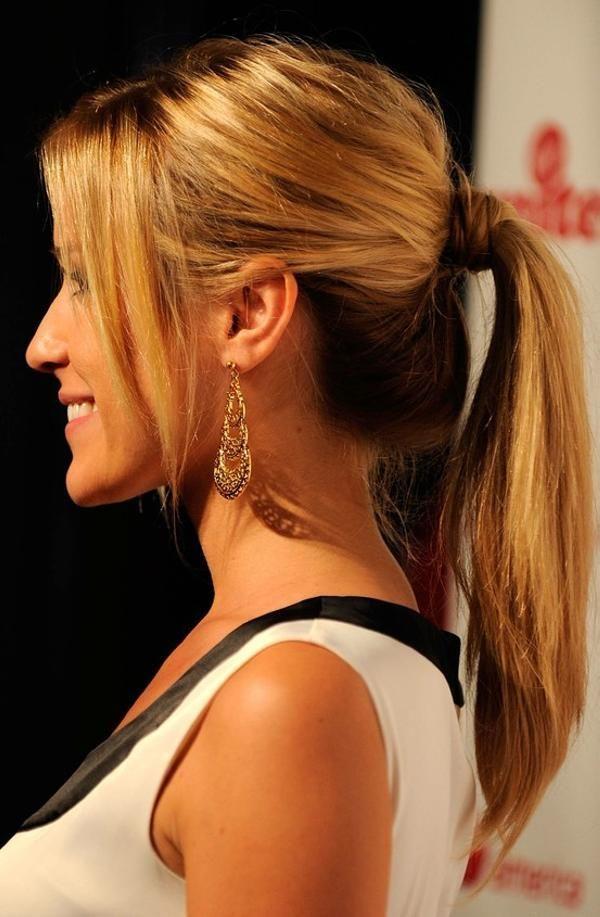 Хвост на короткие волосы (8)