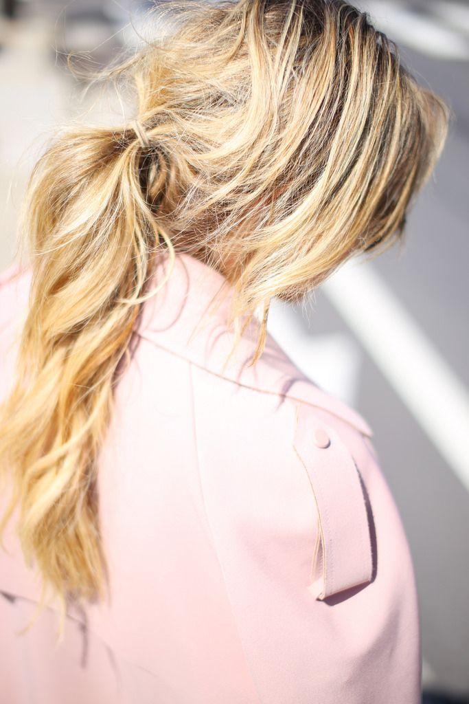 Хвост на короткие волосы (3)