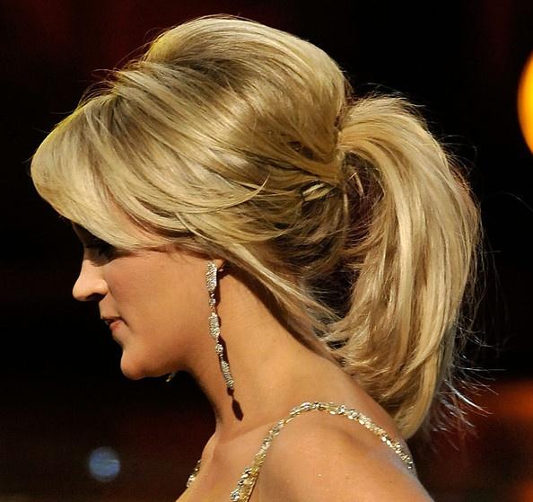 Хвост на короткие волосы (6)