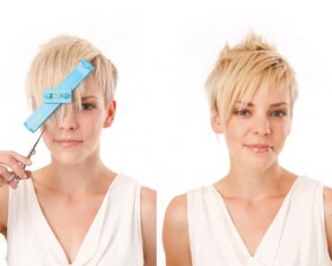 Как подстричь себя самой