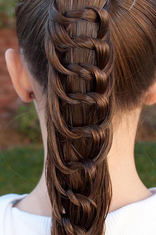 Красивые косы на длинные волосы (17)