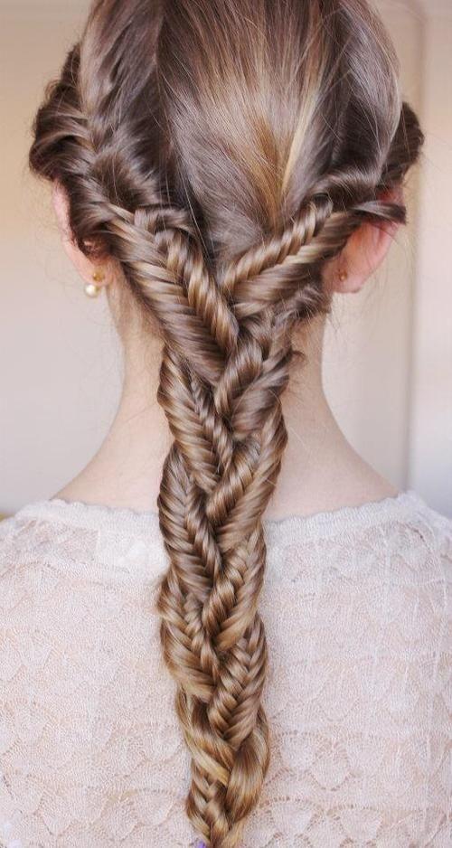 Красивые косы на длинные волосы (14)