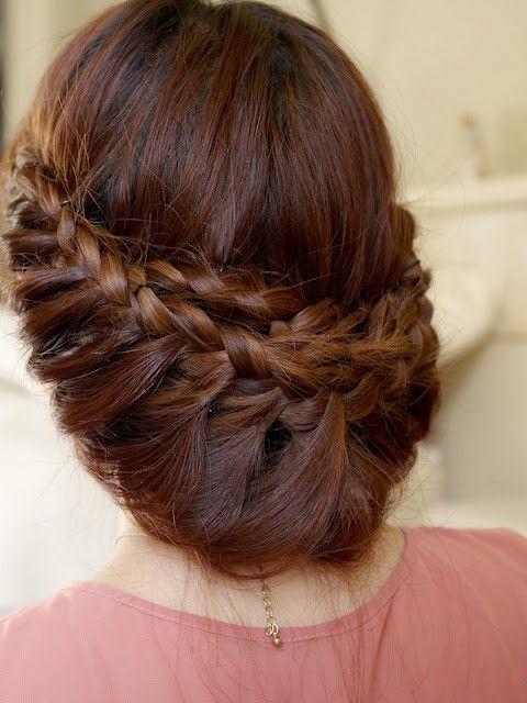 Коса на косе фото (17)