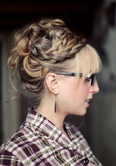 Коса на косе фото (14)