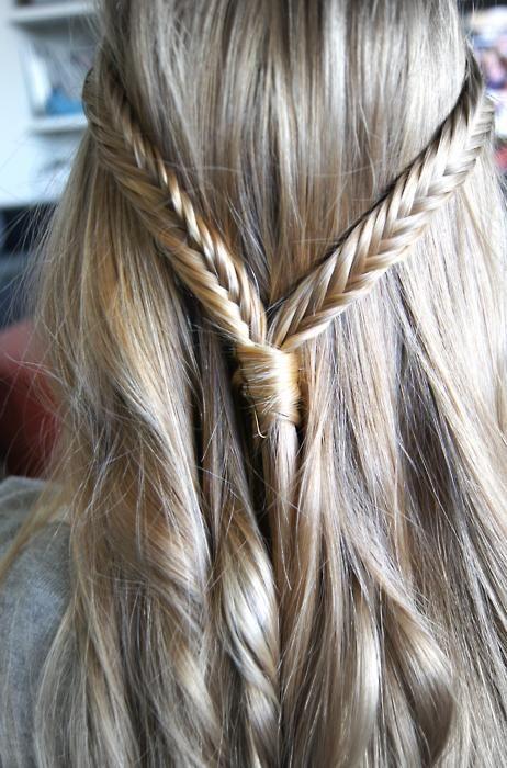 Длинные русые волосы (10)