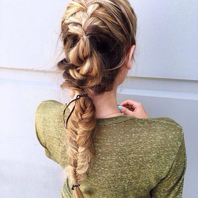 Коса на косе фото (8)