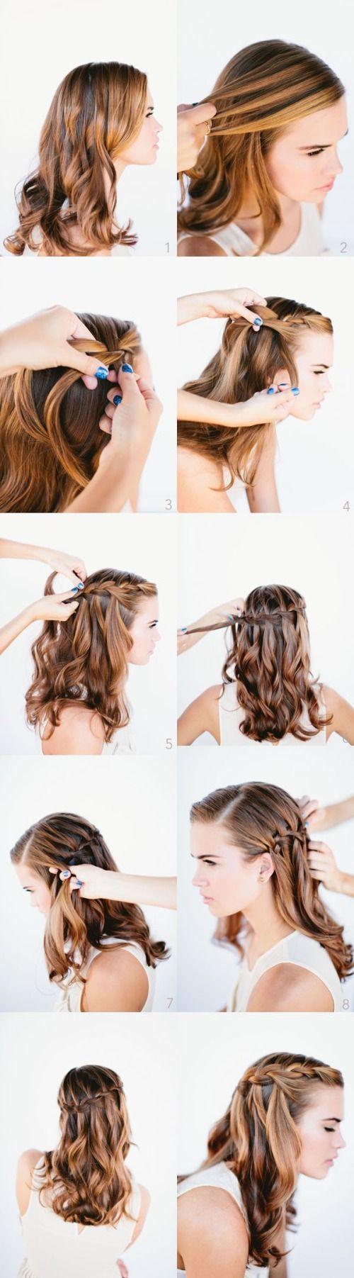 Коса на косе фото