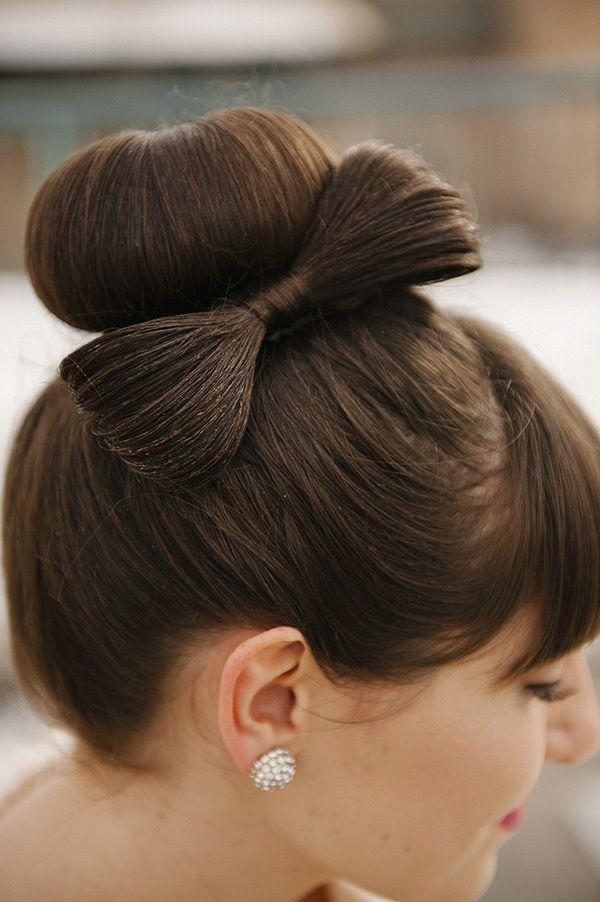 Cвадебные прически на средние волосы, фото (13)