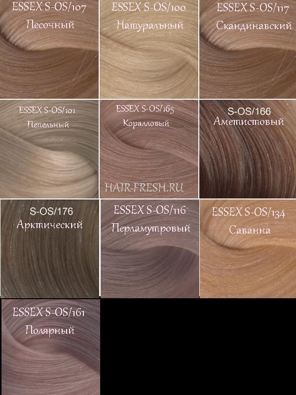 Палитра красок ESSEX: S-OS