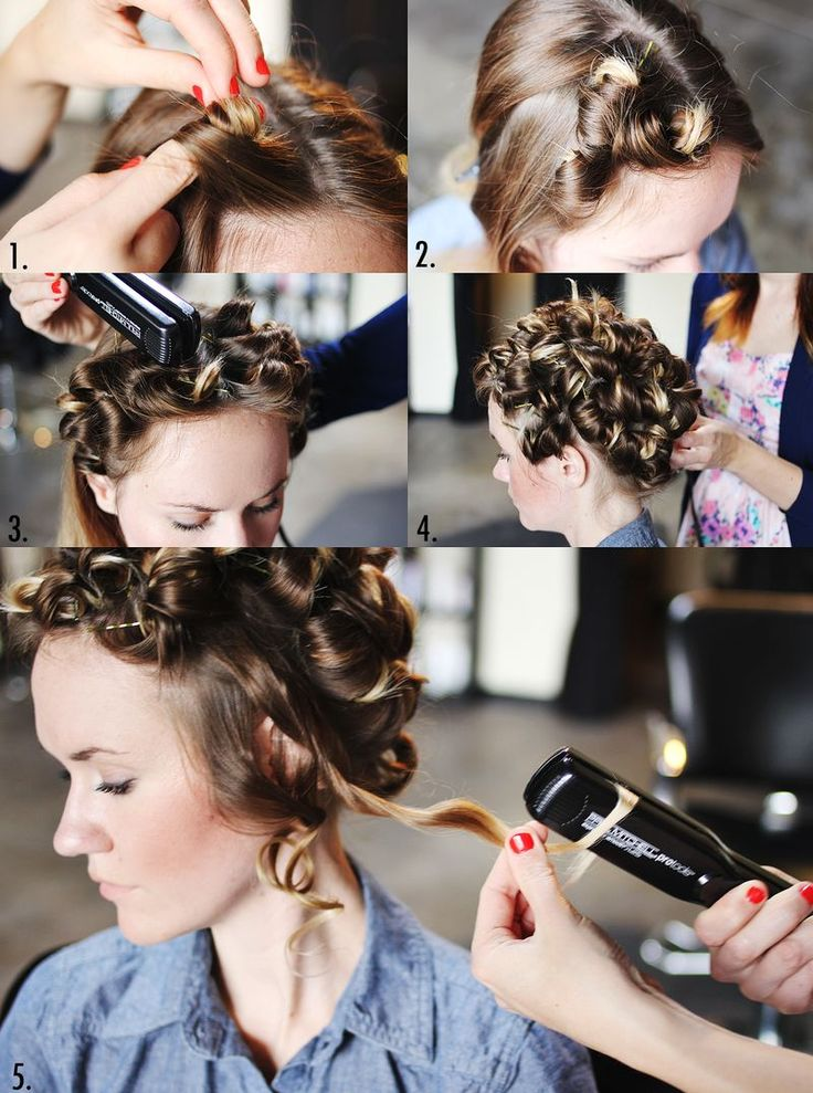 Как сделать волосы волнами?