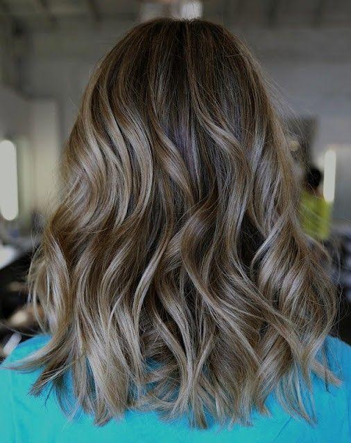 Пепельно-коричневые волосы: цвет и палитра