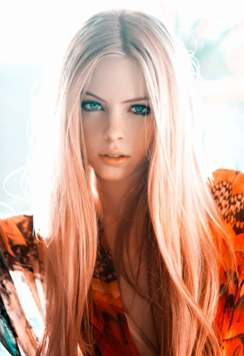 Персиковые волосы (5)