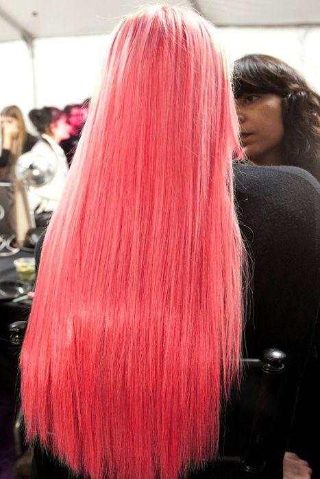 Алые волосы, фото (13)