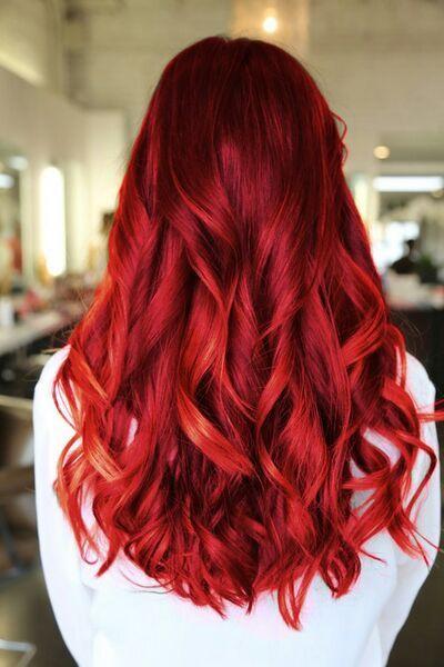 Алые волосы, фото (6)