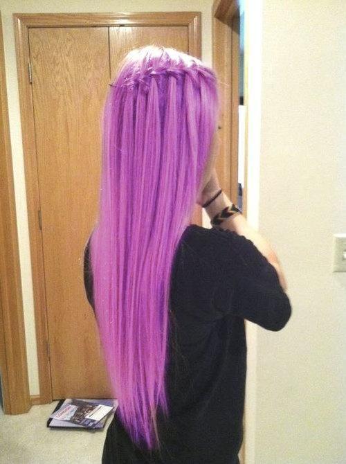 Сиреневые волосы (9)