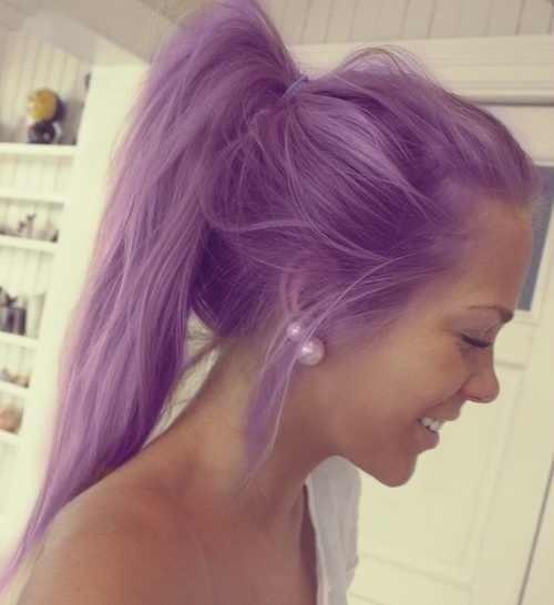 Сиреневые волосы (8)