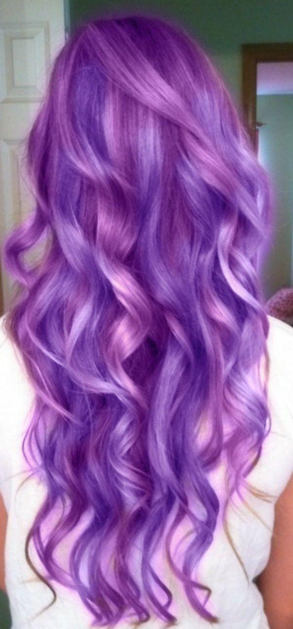 Сиреневые волосы (4)