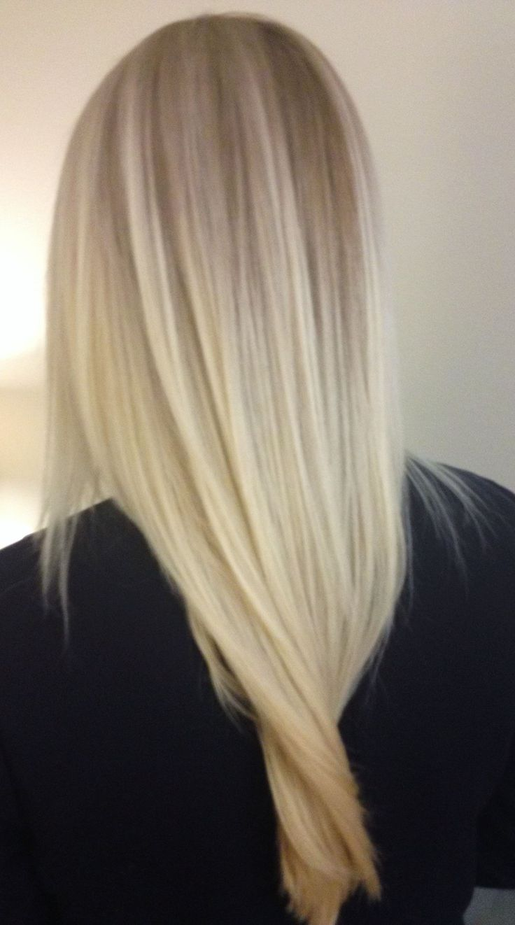 Мелирование на белые волосы (11)