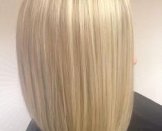 Мелирование на белые волосы