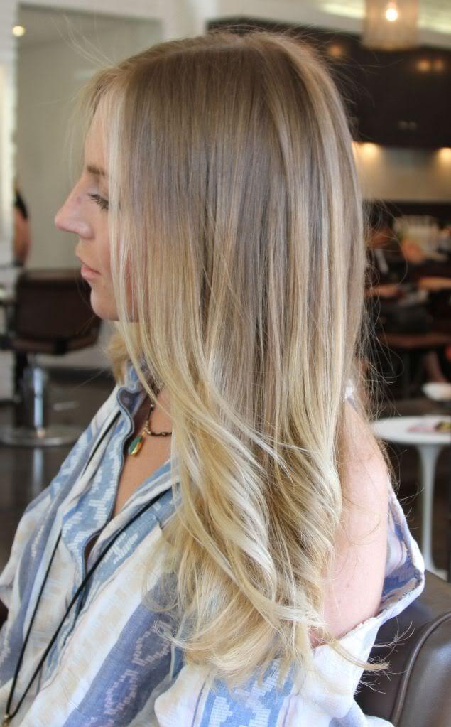 Мелирование на белые волосы (10)