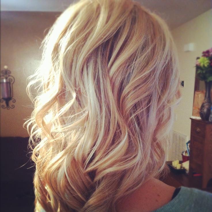 Мелирование на белые волосы (1)