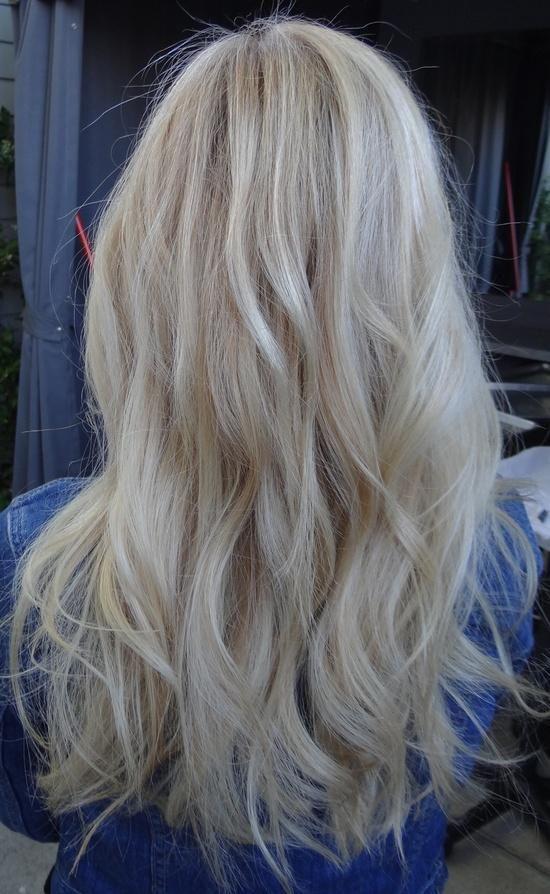 Мелирование на белые волосы (9)