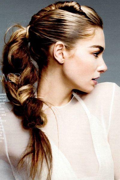 Прически с длинными косами (7)