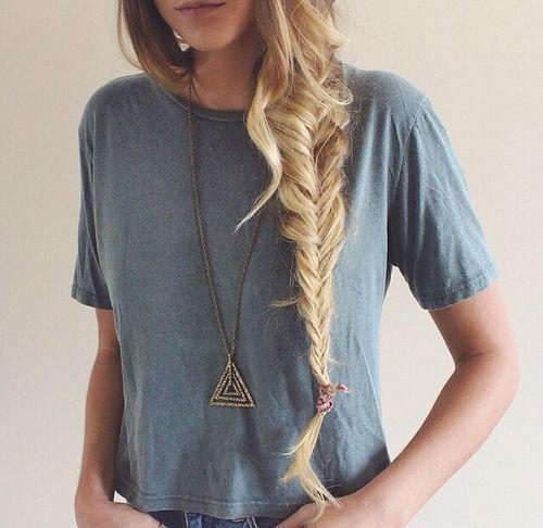 Прически с длинными косами (3)