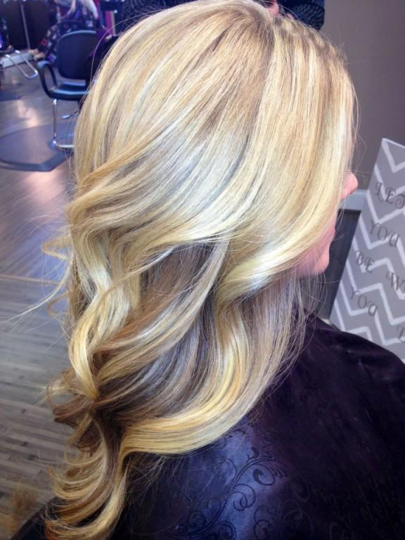 Мелирование на белые волосы (7)