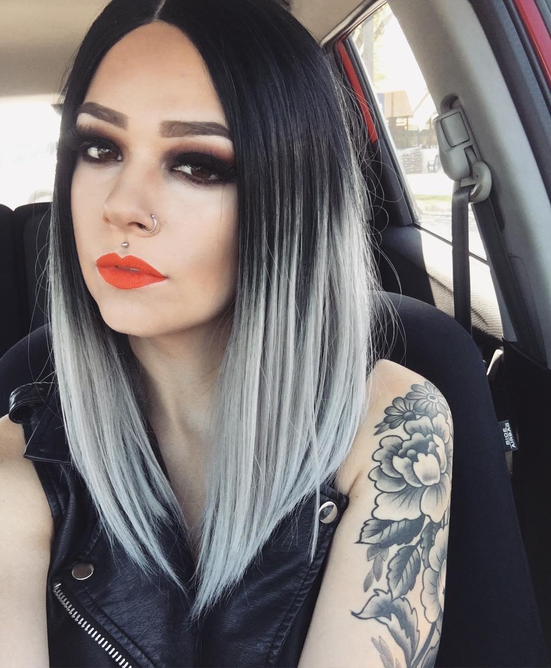 Темно-пепельный цвет волосТемно-пепельный цвет волос