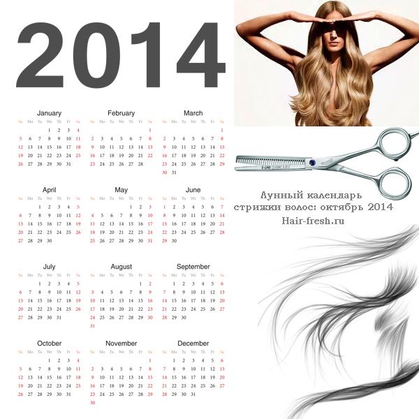 Стрижка в октябре 2014 по лунному календарю
