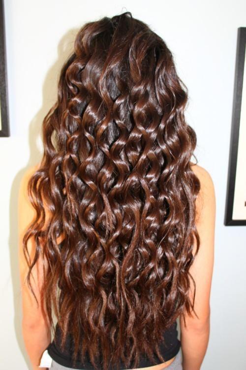 Завивка волос «крупные локоны»