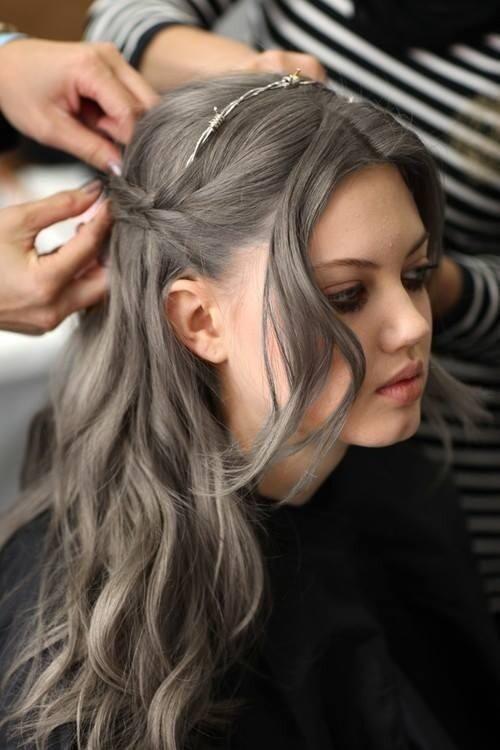 Темно-пепельный цвет волос (9)