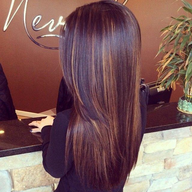 Мелирование на черные волосы (11)