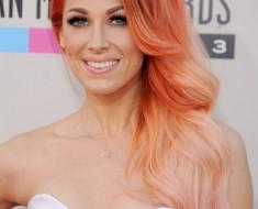 Оранжевые волосы: цвет и краска