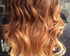 Какой цвет волос подходит рыжим