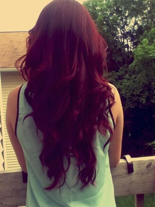 Красное дерево: волосы