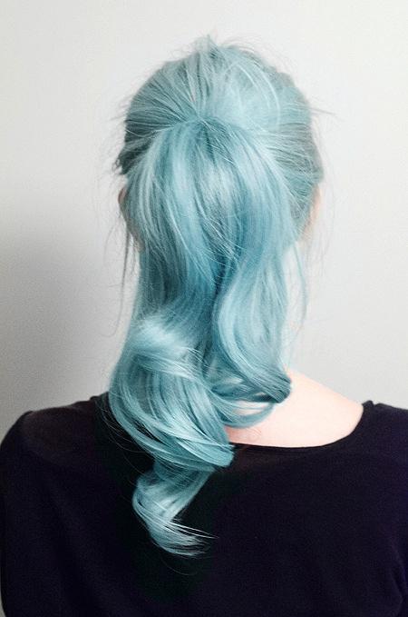 Бирюзовые волосы