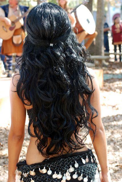 Черный цвет волос (5)