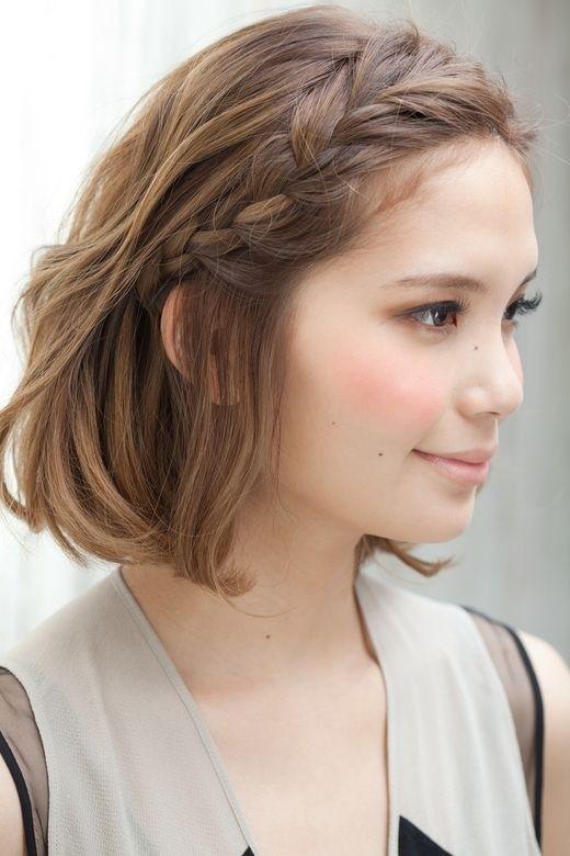 Новогодние прически на короткие волосы (4)