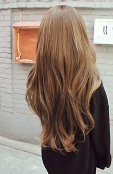 Светлый шатен: цвет волос