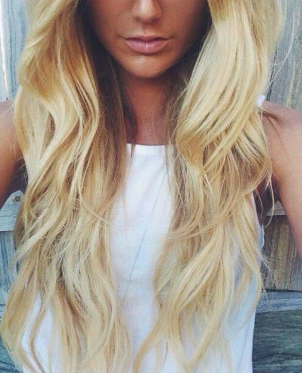 Золотистый блонд